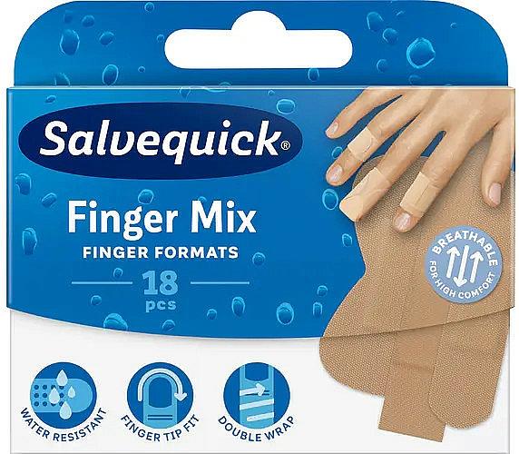 Tiritas resistentes al agua, mix - Salvequick Finger Mix