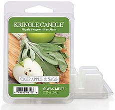Perfumería y cosmética Cera aromática, manzana y salvia - Kringle Candle Wax Crisp Apple & Sage