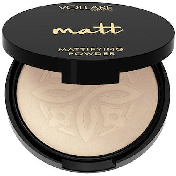 Polvo facial compacto con efecto mate - Vollare Mattifying Face Powder