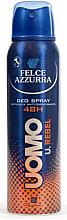 Perfumería y cosmética Desodorante spray antitranspirante - Felce Azzurra Deo Rebel