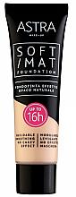 Perfumería y cosmética Base de maquillaje - Astra Soft Mat Foundation