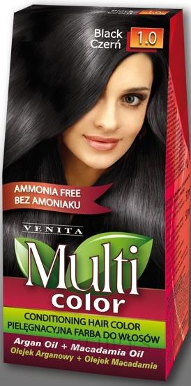 Tinte permanente para cabello, sin amoníaco - Venita Multi Color — imagen 1.0
