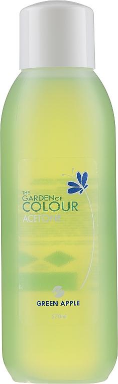 Quitaesmalte de uñas con acetona y manzana verde - Silcare The Garden Of Colour Aceton Green Apple