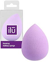 Perfumería y cosmética Esponja de maquillaje, lila - Ilu Sponge Raindrop Purple
