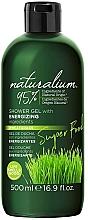Perfumería y cosmética Gel de ducha energizante con hierba de trigo - Naturalium Energizing Shower Gel