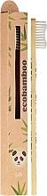 Perfumería y cosmética Cepillo dental de bambú, blanco - Ecobamboo Soft Toothbrush