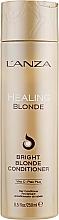 Perfumería y cosmética Acondicionador para cabellos rubios naturales y decolorados - L'anza Healing Blonde Bright Blonde Conditioner