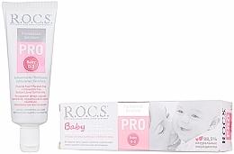 Perfumería y cosmética Pasta dental con vitamina E sin flúor - R.O.C.S. PRO Baby