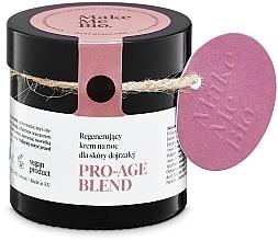 Perfumería y cosmética Crema facial rejuvenecedora de noche con aceites de árnica y onagra - Make Me BIO Anti-Aging Night