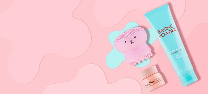 Por la compra de productos Etude House superior a 40 €, llévate un cepillo de limpieza facial de silicona de regalo
