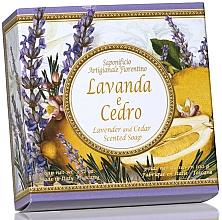 Perfumería y cosmética Jabón artesanal con aroma a lavanda & cedro - Saponificio Artigianale Fiorentino Capri Lavender & Cedar