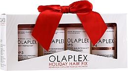 Perfumería y cosmética Set para cabello (acondicionador/100ml+ champú/100ml+ crema/100ml+ sérum/100ml) - Olaplex Holiday Hair Fix