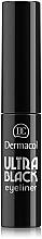 Perfumería y cosmética Delineador de ojos - Dermacol Ultra Black Eyeliner