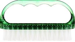 Perfumería y cosmética Cepillo para uñas, 74752, verde - Top Choice