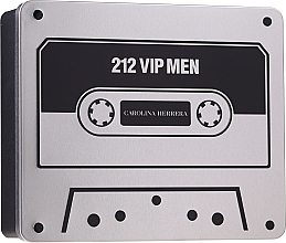Perfumería y cosmética Carolina Herrera 212 VIP Men - Set (eau de toilette/100ml + gel de ducha/100ml)