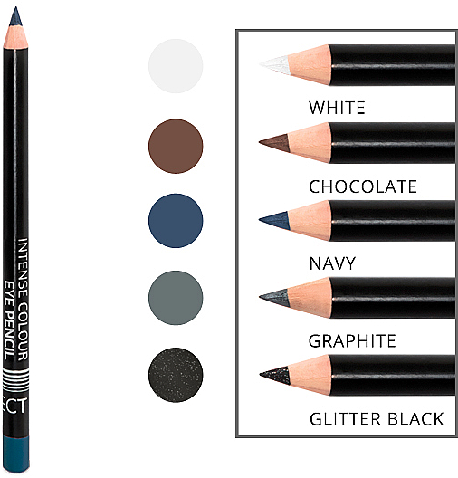 Lápiz de ojos intenso suave de larga duración - Affect Cosmetics Intense Colour Eye Pencil — imagen N3