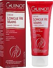 Perfumería y cosmética Crema de manos con manteca de karité y aceite de almendras dulces - Guinot Longue Vie Mains Hand Cream