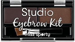 Perfumería y cosmética Paleta de sombras de cejas - Miss Sporty Studio Eyebrow Kit