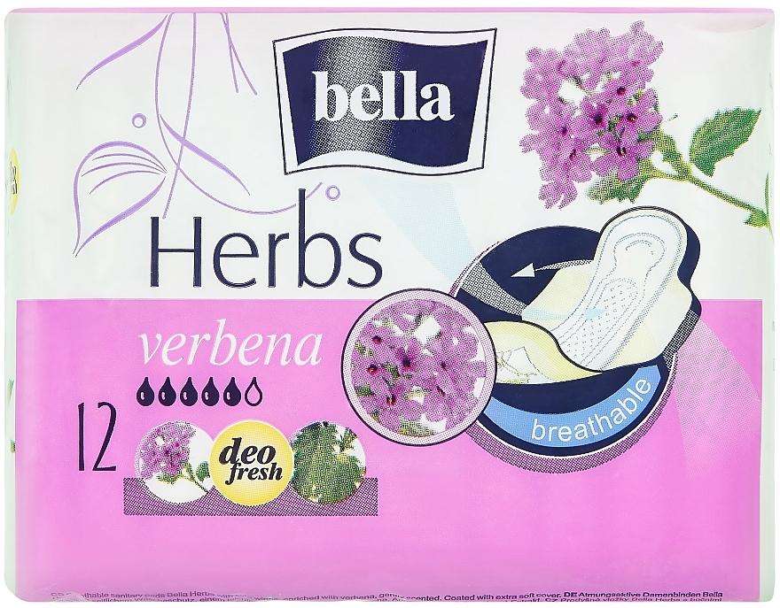Compresas Panty Herbs Verbena 12 uds. - Bella