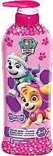 Perfumería y cosmética Champú-gel de baño, rosa - Nickelodeon Paw Patrol