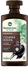 Perfumería y cosmética Champú con extracto de rábano negro y 0% alcohol & parabenos - Farmona Herbal Care
