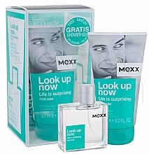Perfumería y cosmética Mexx Look Up Now for Him - Set (eau de toilette/50ml + gel de ducha/150ml)