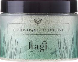 Perfumería y cosmética Polvo de baño con espirulina - Hagi Bath Puder