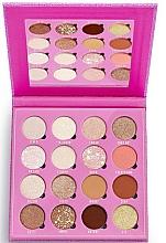 Perfumería y cosmética Paleta de sombras de ojos, 16 colores - Makeup Obsession Feels Eyeshadow Palette