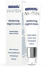 Perfumería y cosmética Crema de noche con ácido azelaico, retinol y aceite de cáñamo - Novaclear Whiten Whitening Night Cream