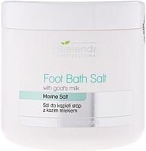 Perfumería y cosmética Sales de baño para pies con leche de cabra - Bielenda Professional Foot Bath Salt With Goat's Milk