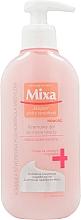 Perfumería y cosmética Gel de limpieza facial hipoalergénico con aceite de almendras dulces - Mixa Sensitive Skin Expert Foaming Cleansing Gel