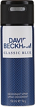 Perfumería y cosmética David Beckham Classic Blue - Desodorante perfumado