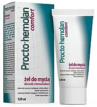 Perfumería y cosmética Gel para hemorroides con hamamelis y extractos de roble - Aflofarm Procto-Hemolan Comfort Cleaning Gel