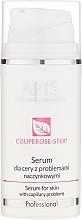 Perfumería y cosmética Sérum para problemas capilares con ceramidas y proteínas de seda - APIS Professional Couperose-Stop Serum