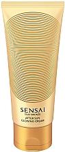 Perfumería y cosmética Crema corporal iluminadora aftersun con extracto de camelia - Kanebo Sensai Silky Bronze After Sun Glowing Cream