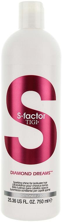 Acondicionador brillo lustroso para cabello opaco - Tigi Diamond Dreams Conditioner — imagen N1