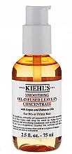 Perfumería y cosmética Concentrado alisador de cabello con aceite de argán y babasú sin aclarado - Kiehl's Smoothing Oil-Infused Leave-in Concentrate