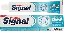 Perfumería y cosmética Pasta dental blanqueadora - Signal Long Active White Fresh Toothpaste