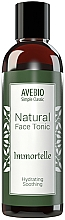 Perfumería y cosmética Tónico facial calmante con extracto de plantas naturales - Avebio Natural Face Tonic Immortelle