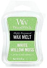 Perfumería y cosmética Cera para lámparas aromáticas, musgo de sauce blanco - WoodWick Wax Melt White Willow Moss