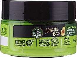 Perfumería y cosmética Mascarilla capilar reparadora con aceite de aguacate virgen - Nature Box Avocado Oil Maska