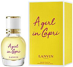 Perfumería y cosmética Lanvin A Girl in Capri - Eau de toilette (mini)