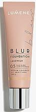 Perfumería y cosmética Base de maquillaje de larga duración, todos tipos de pieles, SPF 15 - Lumene Longwear Blur Foundation SPF 15