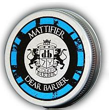 Perfumería y cosmética Masilla de fijación matificante con cera de abejas y de carnauba - Dear Barber Mattifier Hair Paste