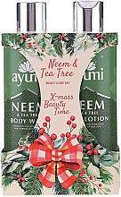Perfumería y cosmética Set corporal (loción/250ml + gel de ducha/250ml) - Ayumi Neems & Tea Tree