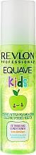 Perfumería y cosmética Spray acondicionador desenredante sin aclarado con proteínas de trigo, aroma a manzana - Revlon Professional Equave Kids Daily Leave-In Conditioner