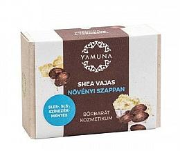 Perfumería y cosmética Jabón con manteca de karité, aroma a almendras - Yamuna Shea Butter Vegetable Soap