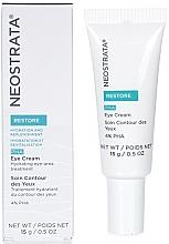 Perfumería y cosmética Crema hidratante para contorno de ojos con aceite de aguacate y ácido hialurónico - Neostrata Restore Eye Cream
