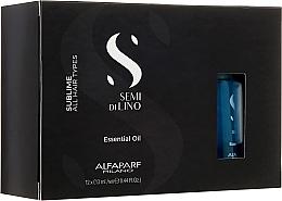 Aceite esencial para cabello de semilla de lino - Alfaparf Illuminating Essential Oil — imagen N1