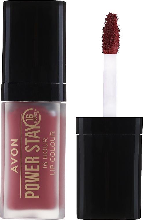 Labial líquido de larga duración - Avon Power Stay 16-Hour Matte Lip Color